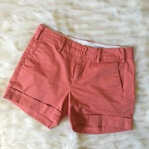 Anthropologie Paper Boy Coral Shorts